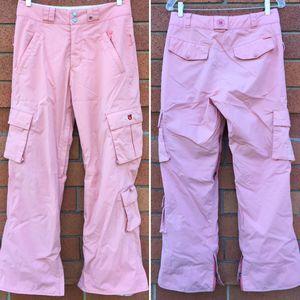 Burton Petal Pink Ski Snowboard Pants Small